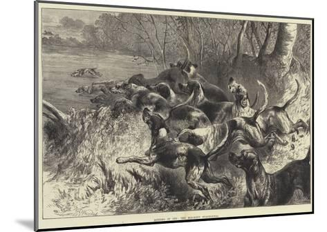 Hitting it Off, the Mid-Kent Staghounds-Harrison William Weir-Mounted Giclee Print