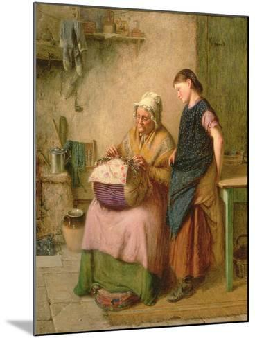 The Embroidery Lesson-Haynes King-Mounted Giclee Print