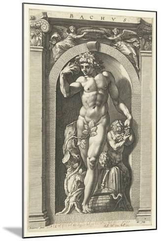Bacchus, 1592-Hendrik Goltzius-Mounted Giclee Print
