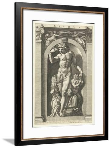 Bacchus, 1592-Hendrik Goltzius-Framed Art Print