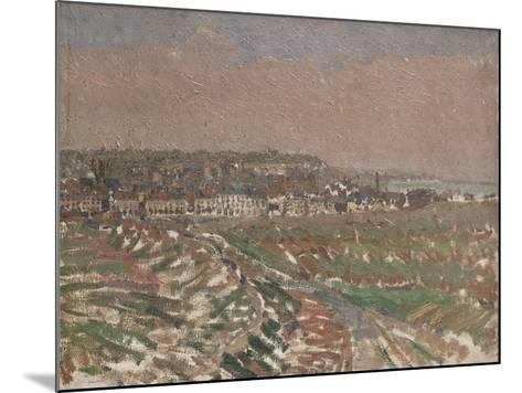 Dieppe from the West, 1910 - 1911-Harold Gilman-Mounted Giclee Print