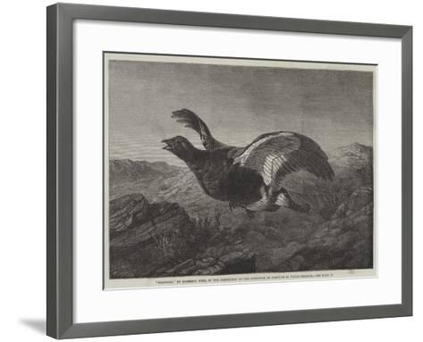 Startled-Harrison William Weir-Framed Art Print