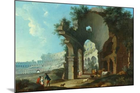 The Colosseum at Rome-Hendrik Van Lint-Mounted Giclee Print