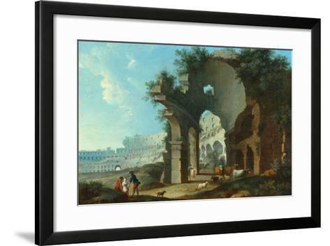 The Colosseum at Rome-Hendrik Van Lint-Framed Art Print