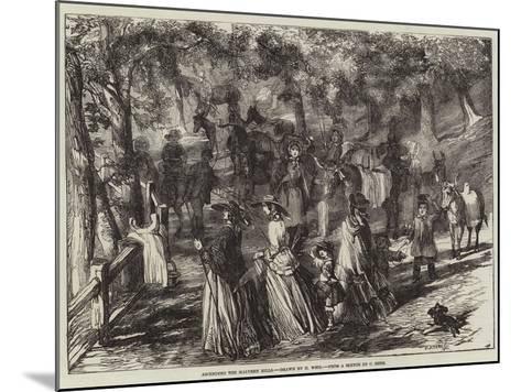 Ascending the Malvern Hills-Harrison William Weir-Mounted Giclee Print