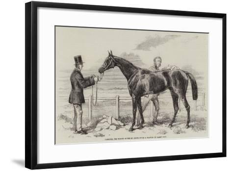 Gamester, the Winner of the St Leger-Harry Hall-Framed Art Print
