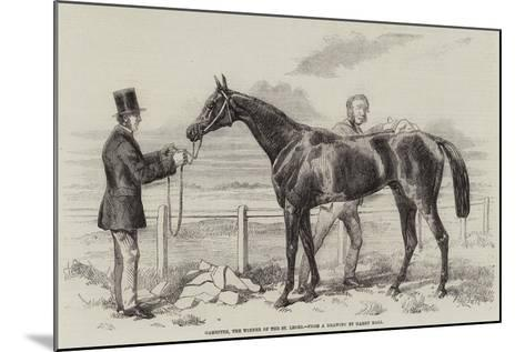 Gamester, the Winner of the St Leger-Harry Hall-Mounted Giclee Print