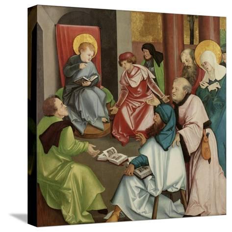 Christ in the Temple, C.1510-30-Hans Leonard Schaufelein-Stretched Canvas Print