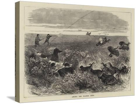Among the Prairie Hens-Harrison William Weir-Stretched Canvas Print