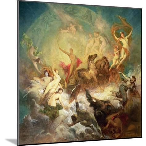 Victory of Light over Darkness, 1883-84-Hans Makart-Mounted Giclee Print