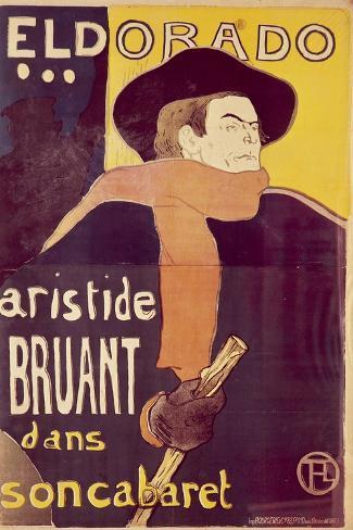 Eldorado-Henri de Toulouse-Lautrec-Stretched Canvas Print