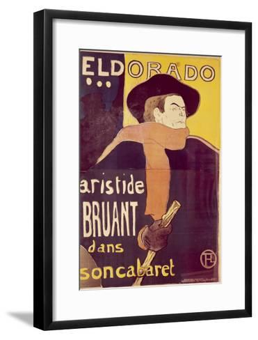 Eldorado-Henri de Toulouse-Lautrec-Framed Art Print