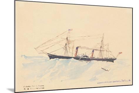Scotia', a Cunard Steamship, C.1879-80-Henri de Toulouse-Lautrec-Mounted Giclee Print