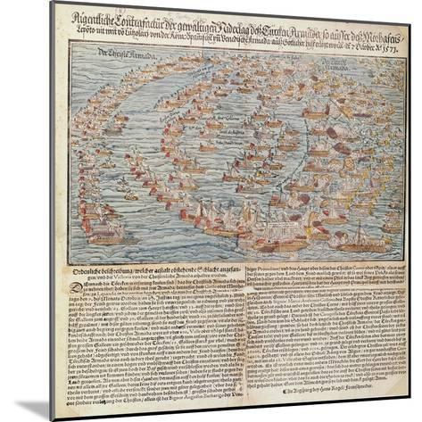 The Battle of Lepanto-Hans Rogel-Mounted Giclee Print