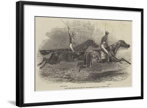 Epsom Spring Meeting, the Race for The Metropolitan-Harrison William Weir-Framed Art Print