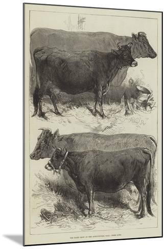 The Dairy Show at the Agricultural Hall, Prize Cows-Harrison William Weir-Mounted Giclee Print