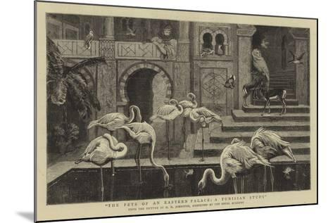 The Pets of an Eastern Palace, a Tunisian Study-Harry Hamilton Johnston-Mounted Giclee Print