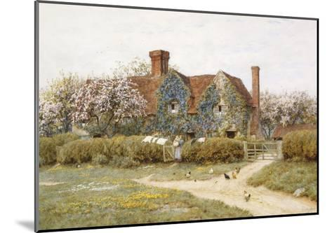 A Buckinghamshire House at Penstreet-Helen Allingham-Mounted Giclee Print