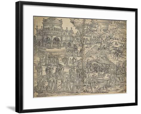 The Feast of Herod-Hans Sebald Beham-Framed Art Print