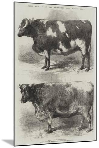 Prize Animals at the Smithfield Club Cattle Show-Harrison William Weir-Mounted Giclee Print