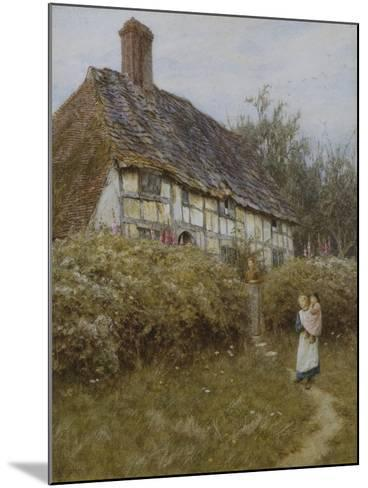 The Priest's House, West Hoathly-Helen Allingham-Mounted Giclee Print