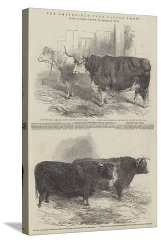 The Smithfield Club Cattle Show, Prize Cattle-Harrison William Weir-Stretched Canvas Print