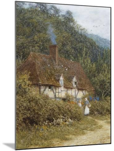 A Cottage Near Witley, Surrey-Helen Allingham-Mounted Giclee Print