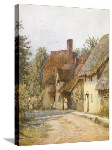 East Hagbourne, Berkshire-Helen Allingham-Stretched Canvas Print