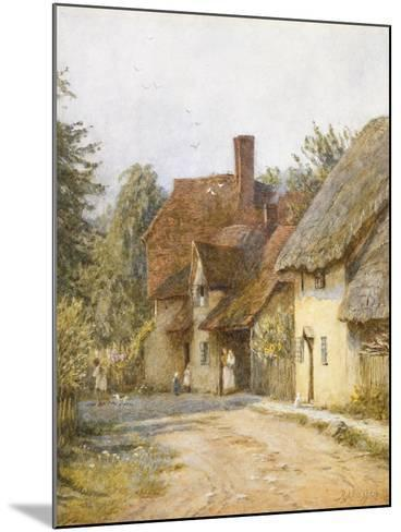 East Hagbourne, Berkshire-Helen Allingham-Mounted Giclee Print