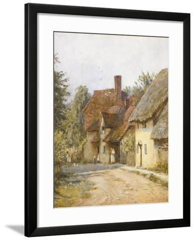 East Hagbourne, Berkshire-Helen Allingham-Framed Art Print