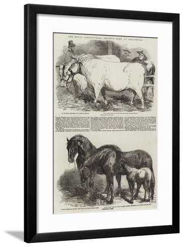 The Royal Agricultural Society's Show, at Chelmsford-Harrison William Weir-Framed Art Print