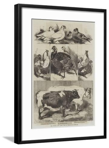 The Poultry and Cattle Show at Birmingham-Harrison William Weir-Framed Art Print