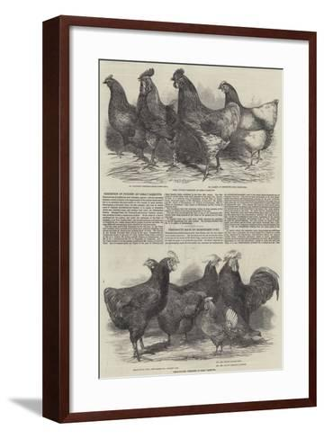 Exhibition of Poultry at Great Yarmouth-Harrison William Weir-Framed Art Print