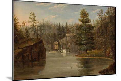 Gorge of the St. Croix, 1847-Henry Lewis-Mounted Giclee Print