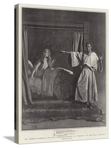 Mr Forbes Robertson and Miss Gertrude Elliott in Othello at the Lyric Theatre-Henry Marriott Paget-Stretched Canvas Print