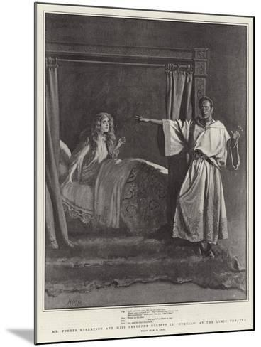 Mr Forbes Robertson and Miss Gertrude Elliott in Othello at the Lyric Theatre-Henry Marriott Paget-Mounted Giclee Print