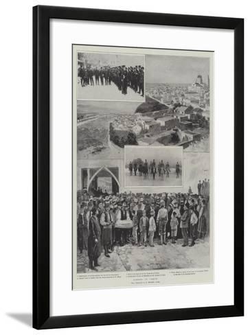 Scenes in Crete-Henry Charles Seppings Wright-Framed Art Print