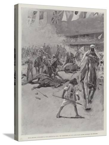 Royal Military Tournament at the Agricultural Hall-Henry Charles Seppings Wright-Stretched Canvas Print