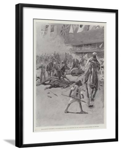 Royal Military Tournament at the Agricultural Hall-Henry Charles Seppings Wright-Framed Art Print