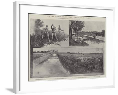 With the Tientsin Relief Force, Humours of the March-Henry Charles Seppings Wright-Framed Art Print