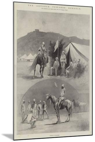 The Advance Towards Dongola, Scenes at Akasheh-Henry Charles Seppings Wright-Mounted Giclee Print
