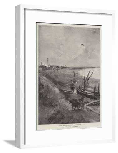 Military Ballooning, Experiments at Shoeburyness-Henry Charles Seppings Wright-Framed Art Print