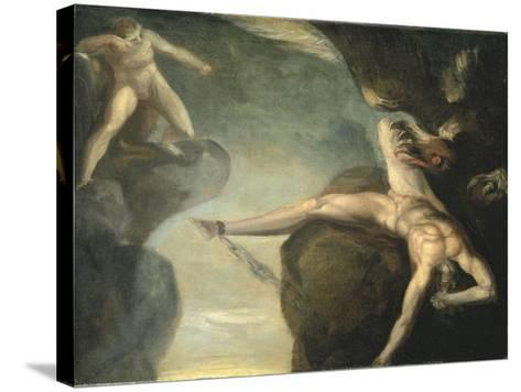 Prometheus Freed by Hercules, 1781-1785-Henry Fuseli-Stretched Canvas Print