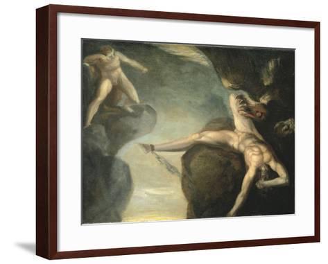 Prometheus Freed by Hercules, 1781-1785-Henry Fuseli-Framed Art Print