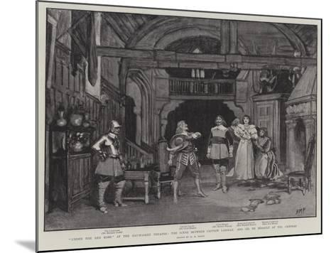 Under the Red Robe at the Haymarket Theatre-Henry Marriott Paget-Mounted Giclee Print
