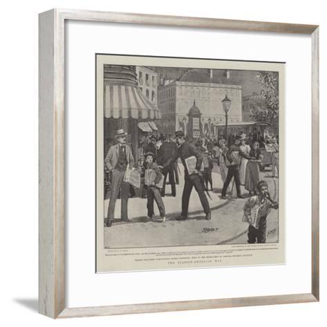 The Spanish-American War-Henry Marriott Paget-Framed Art Print