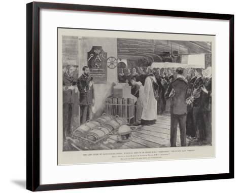 The Late Duke of Saxe-Coburg-Gotha-Henry Charles Seppings Wright-Framed Art Print