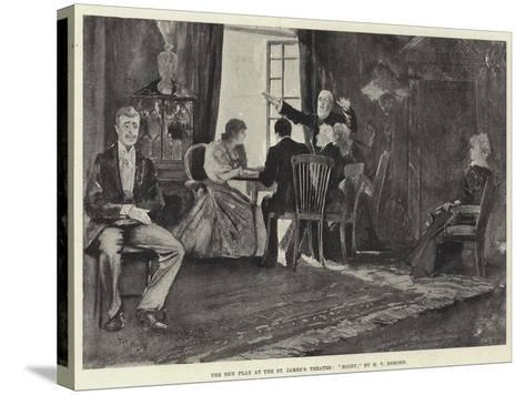 The New Play at the St James's Theatre, Bogey, by H V Esmond-Henry Charles Seppings Wright-Stretched Canvas Print