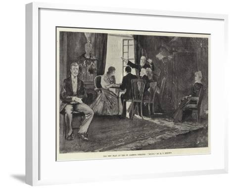 The New Play at the St James's Theatre, Bogey, by H V Esmond-Henry Charles Seppings Wright-Framed Art Print