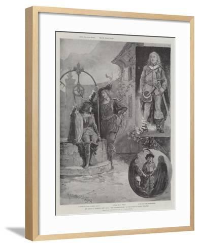 Mr Louis N Parker's New Play, The Swashbuckler, at the Duke of York's Theatre-Henry Charles Seppings Wright-Framed Art Print